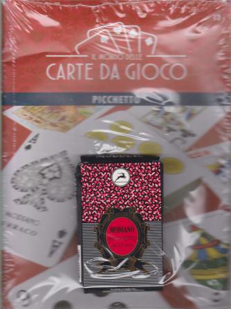 Il mondo delle carte da gioco - Modiano - Picchetto - da 32 carte - n. 13 - settimanale - 21/11/2020 -