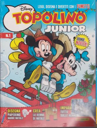 Disney Play -  Topolino junior + in regalo 4 giochi in 1 - n. 15 - bimestrale - 20 novembre 2020 -