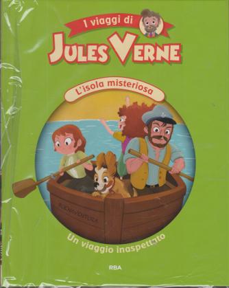 Jules Verne Kids - L'isola misteriosa - Un viaggio inaspettato - n. 10 - settimanale - 20/11/2020 - copertina rigida