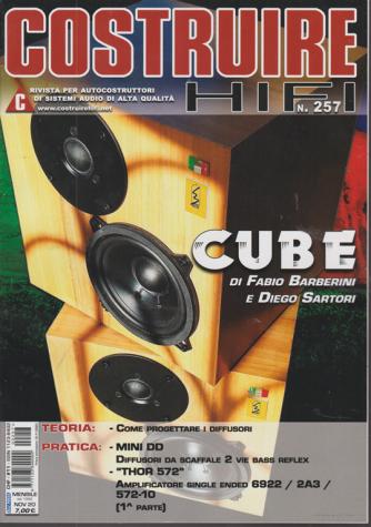 Costruire Hi-Fi - n. 257 - mensile - novembre 2020