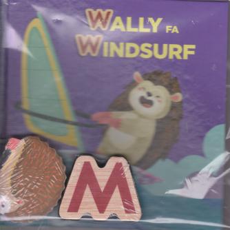 Impara l'alfabeto con i tuoi animali preferiti - Wally fa Windsurf - n. 25 - settimanale - 21/11/2020 - copertina rigida