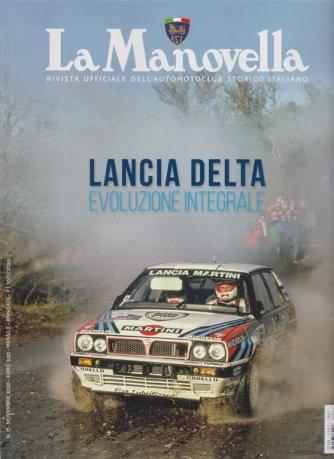 La Manovella - n. 11 -Lancia Delta evoluzione integrale -  novembre 2020 - mensile