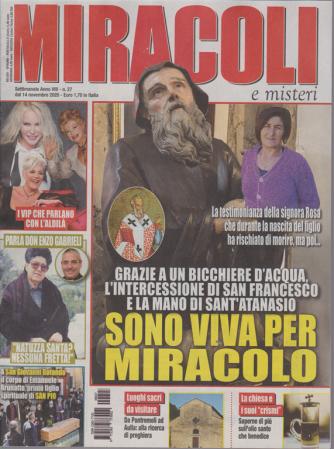 Miracoli e misteri - n. 27 - settimanale - 14 novembre 2020