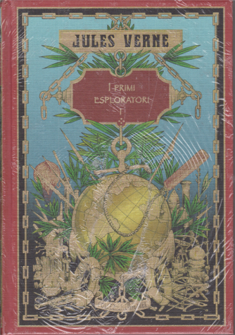 Jules Verne - I primi esploratori I - n. 61 - settimanale - 21/11/2020 - copertina rigida