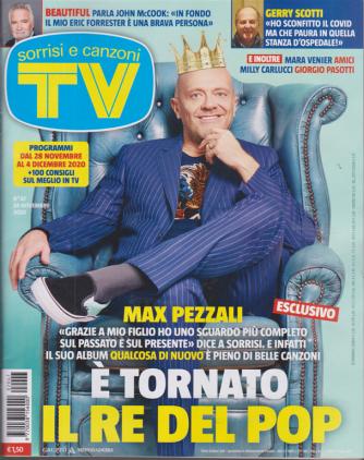 Sorrisi e Canzoni tv - n. 47 - 24 novembre 2020 - settimanale