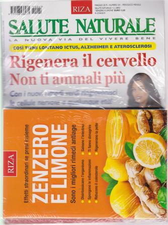 Salute Naturale  + il libro Zenzero e limone - n. 241 - maggio 2019 - mensile