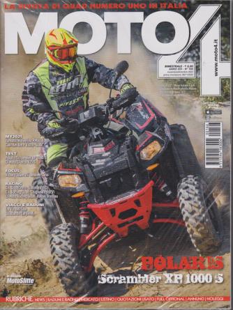 Moto 4 -n. 166 - bimestrale - novembre - dicembre 2020 - 2 riviste