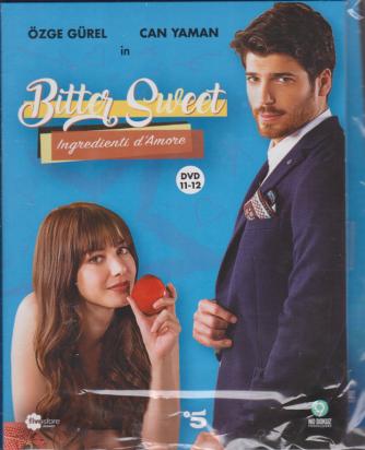 Fivestore Magazine - Bitter Sweet - Ingredienti d'Amore - sesta uscita - 2 dvd + booklet - n. 98 - gennaio 2021 -