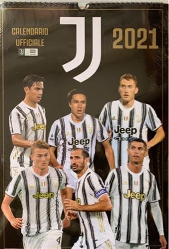 Calendario 2021 Ufficiale Juventus- cm. 29 x 42 con spirale