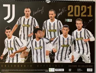 Calendario 2021 Ufficiale Juventus- cm. 44 x 33 con spirale