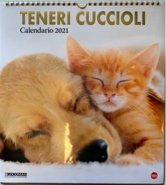 Calendario 2021 Teneri cuccioli - cm. 27.5 x 30 con spirale