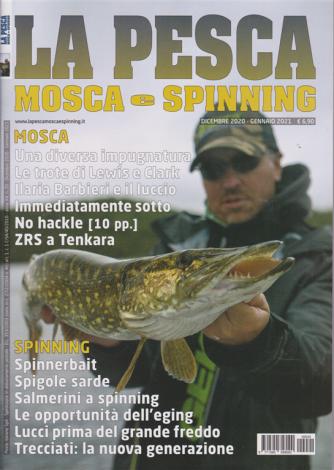 La Pesca -  Mosca e Spinning - n. 20 - dicembre 2020 - gennaio 2021 -