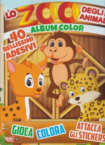 Toys2 Sticker Game - Lo zoo degli animali - Album color - n. 42 - bimestrale - 26 novembre 2020