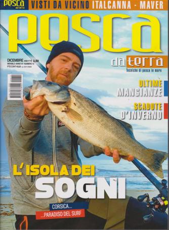 Pesca da terra - n. 12 - dicembre 2020 - mensile