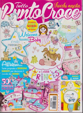 Baby Ricamo - Tutto punto croce - Fiocchi nascita - n. 49 - bimestrale