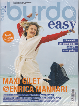 Burda Easy -n. 5 - bimestrale - 1/12/2020