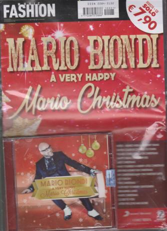 Music Fashion Var.88 - Mario Biondi a very happy Mario Christmas - rivista + cd -