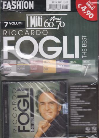 Music Fashion Var.86 - I miti anni 60-70 - Riccardo Fogli the best - rivista + cd