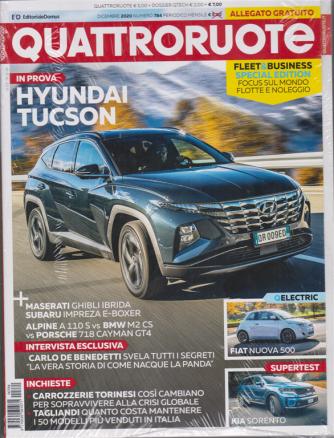Quattroruote + Dossier Qtech - n. 784 - dicembre 2020 - mensile - 2 riviste