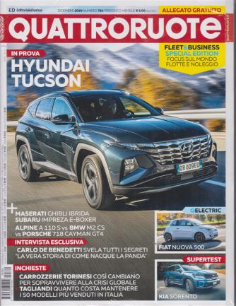 Quattroruote + Allegato gratuito Fleet & business special edition - n. 784 - dicembre 2020 - mensile - 2 riviste