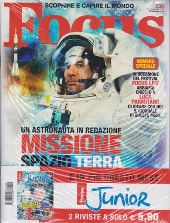 Focus + Focus Junior - n. 12 - dicembre 2020 - mensile - 2 riviste