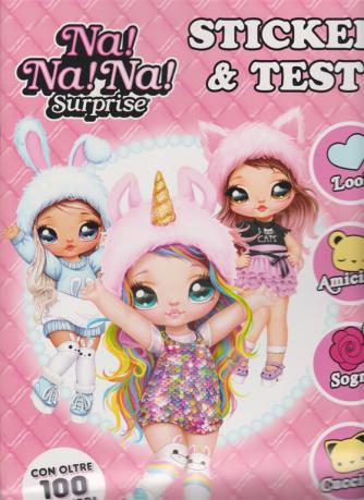 Surprise - Na! Na! Na! - n. 1 - Sticker & test - bimestrale - dicembre 2020 - gennaio 2021 -
