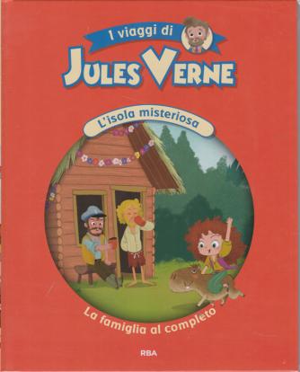 I viaggi di Jules Verne - L'isola misteriosa - La famiglia al completo - n. 11 - settimanale - 27/11/2020 - copertina rigida