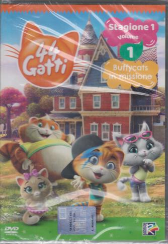 I Dvd di Sorrisi 5 - 44 Gatti - n. 1 - settimanale - 1/12/2020 - 2 dvd + poster speciale di Natale