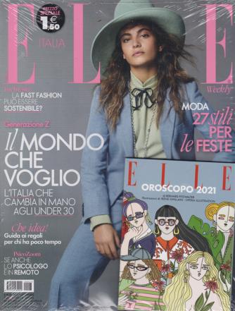Elle + Elle oroscopo 2021 - n. 47 - 12 dicembre 2020 - settimanale