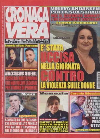 N.Cronaca Vera - n. 2519 - 8 dicembre 2020 - settimanale di fatti  e attualità