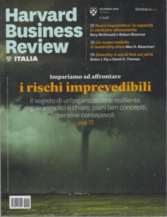 Harward Business Review Italia - n. 12 - dicembre 2020 - mensile