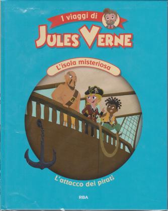 I viaggi di Jules Verne - L'isola misteriosa - L'attacco dei pirati - n. 12 - settimanale - 4/12/2020 - copertina rigida