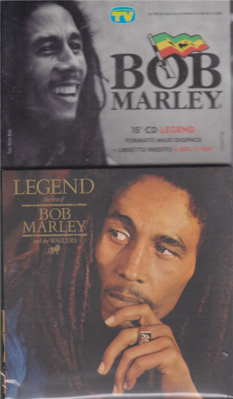 Gli speciali musicali di Sorrisi - n. 21 - 4/12/2020 - Bob Marley - 15° cd - Legend - settimanale