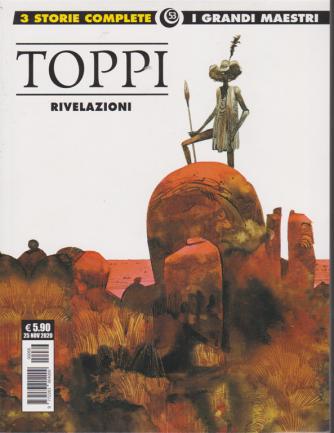 Cosmo Albi - Sergio Toppi, Rivelazioni - I grandi maestri - n. 53 - 25 novembre 2020 -
