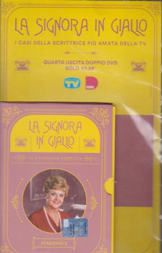 I Dvd di Sorrisi 6 -  n. 3 - La signora in giallo - quarta uscita - doppio dvd - stagione 2 - 8/12/2020 - settimanale -