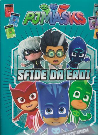 Sticker & Color - Pjmasks - Sfide da eroi - n. 34 - 28/11/2020 - bimestrale