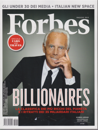 Forbes - n. 19 - maggio 2019 - mensile