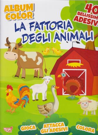Toys2 Sticker Album   color- La Fattoria  Degli Animali - n. 29 - bimestrale - 18 aprile 2019 - 40 bellissimi adesivi