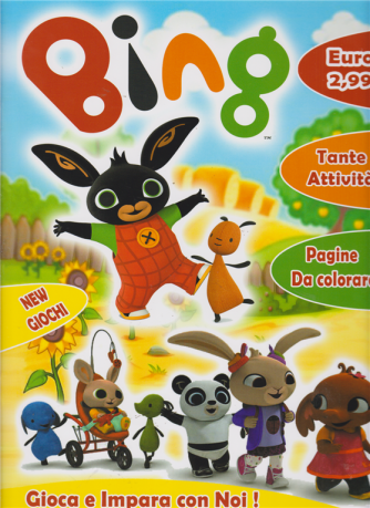 Activity Book Bing - n. 11 - bimestrale -