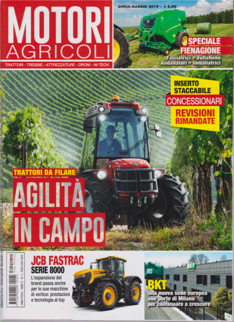 Motori Agricoli - n. 3 - aprile - maggio 2019 - bimestrale -
