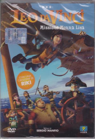 I Dvd Di Sorrisi Collaction 3 - Leo Da Vinci - Missione Monna Lisa - n. 18 - settimanale - maggio 2019
