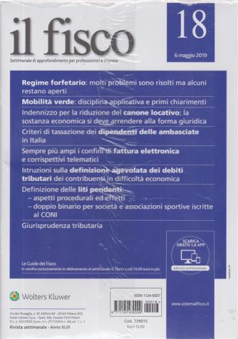 Il Fisco - n. 18 - 6 maggio 2019 - settimanale - 2 riviste