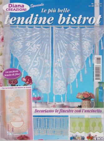 Diana Creazioni Speciale -Le più belle tendine bistrot - n. 73 - trimestrale - 2/5/2019