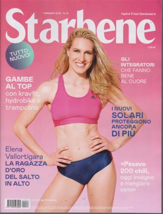 Starbene - n. 21 - 7 maggio 2019 - settimanale