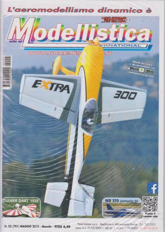 L'aeromodellismo dinamico è Modellistica international - n. 5 - maggio 2019 - mensile