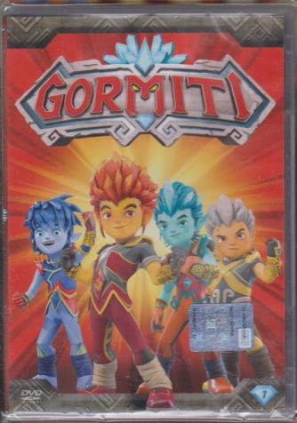 I Dvd Di Sorrisi Collaction 2 - I Gormiti - 1 Dvd +1 bustina di Action cards - n. 7 - settimanale - 7/5/2019