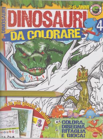 Dinosauri Leggendari Kids - Dinosauri da colorare - n. 4 - bimestrale - maggio - giugno 2019 - 3-6 anni