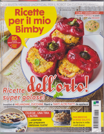 Ricette per il mio Bimby + I quaderni del Bimby - n. 42 - maggio 2019 - mensile