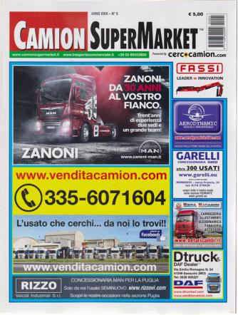 Camion Super Market - n. 5 - 15 maggio 2019 -