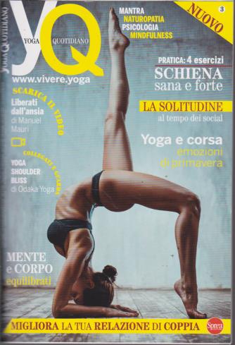 Yoga Quotidiano - n. 3 - bimestrale - maggio - giugno 2019